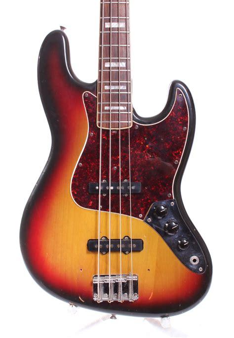 Bass Jazz Fender 1 fender jazz bass 1973 sunburst bass for sale yeahman s guitars