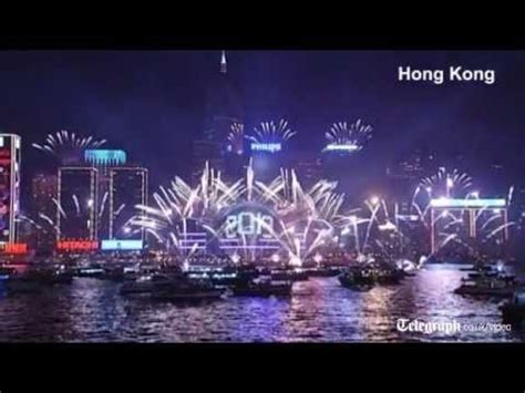 new year s eve celebrations around the world youtube