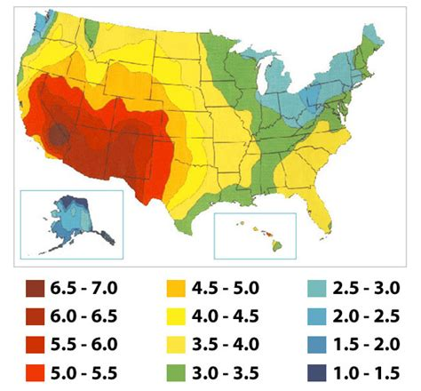 solar radiation map usa step by step guide to installing a solar photovoltaic