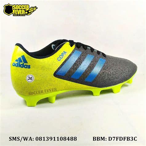 Sepatu Futsal Adidas X16 Anak Anak Hitam Biru Grade Ori sepatu sepak bola anak adidas copa hitam kuning biru terbaru 2017 elevenia