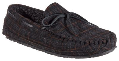 bass pro slippers minnetonka moccasin casey flannel moccasin slippers for
