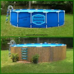 Above Ground Backyard Pools Crafty In Crosby Easy Pallet Sign And Above Ground Pool Camouflage