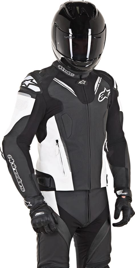 Atem V3 Leather Jacket alpinestars atem leather jacket black cairoamani