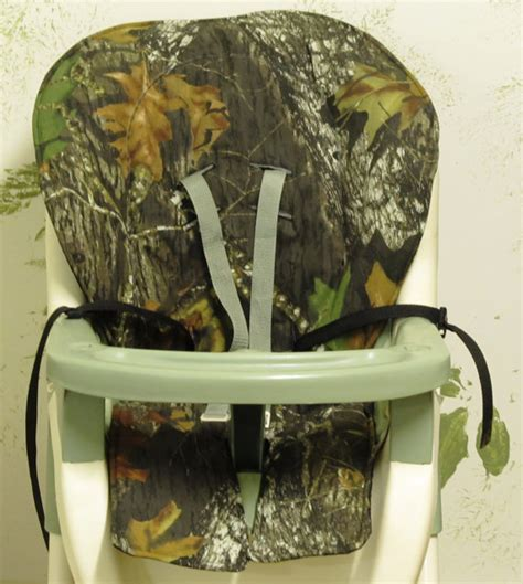 camo cing high chair graco high chair cover pad replacement mossy oak camo
