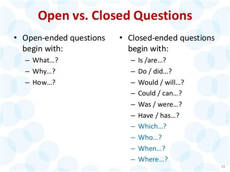Ask More The Power Of Questions To Open Doors Uncover Ebook open vs closed questions