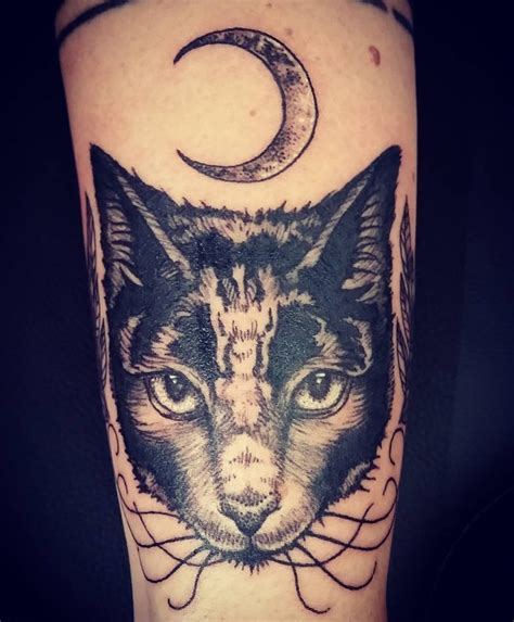 65 Mysterious Black Cat Tattoo Ideas Are They Good Or Evil Meow Best Cat Tattoos