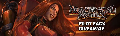 heavy metal machines pilot pack giveaway mmohuts - Mmohut Giveaway