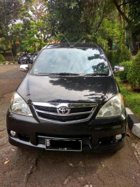 Toyota Avanza G Mt 2014 Hitam dijual avanza g 1 3mt hitam 2008 mobilbekas