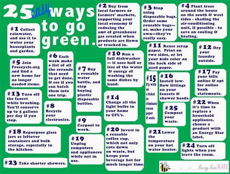 ways to go green at home 25 easy ways to go green busy bee kate