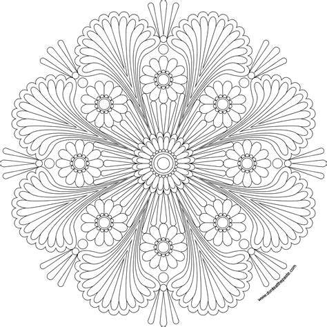 birthday mandala coloring pages don t eat the paste happy mandala to print and color