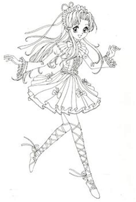 anime magical girl coloring pages coloring book yellow magical girl mama mia picasa