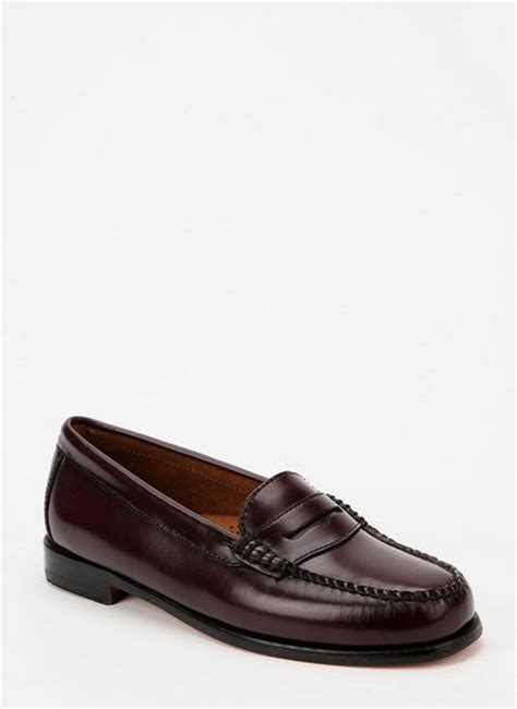 bass wayfarer loafer outfitters bass wayfarer loafer in maroon
