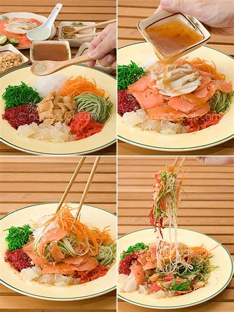 yu sang new year salad recipes yee sang a signature new year dish with