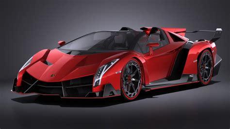 Lamborghini Veneno Roadster Lamborghini Veneno Roadster 2014 Vray 3d Model Cgstudio