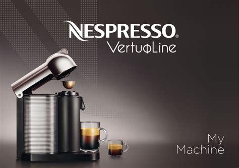 nespresso vertuoline blinking light nespresso coffeemaker gca1 us rd ne user guide
