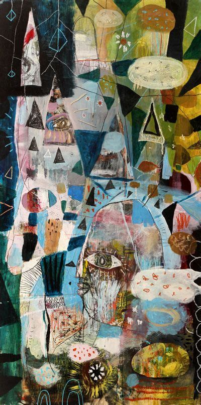 Renow Kanvas Abu 988 best neo expressionism outsider primitivism