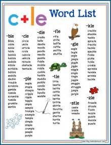 teaching the consonant le syllable type make take amp teach