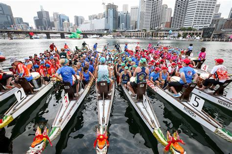 dragon boat racing sydney 2018 sydney chinese new year festival 2018 sydney