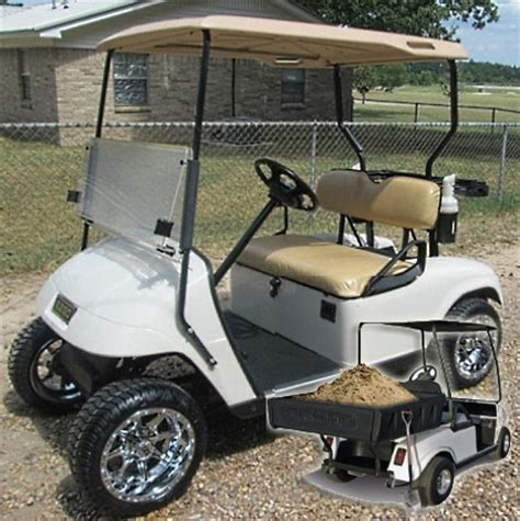 golf cart bed custom ez go 36v electric utility golf cart with brute