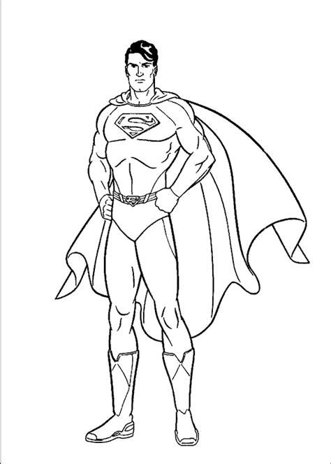 click  print preview superman coloring page superhero