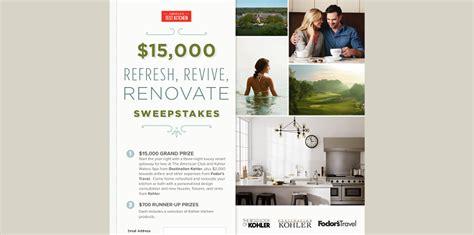 Kitchen Renovation Sweepstakes - america s test kitchen 15 000 refresh revive renovate sweepstakes