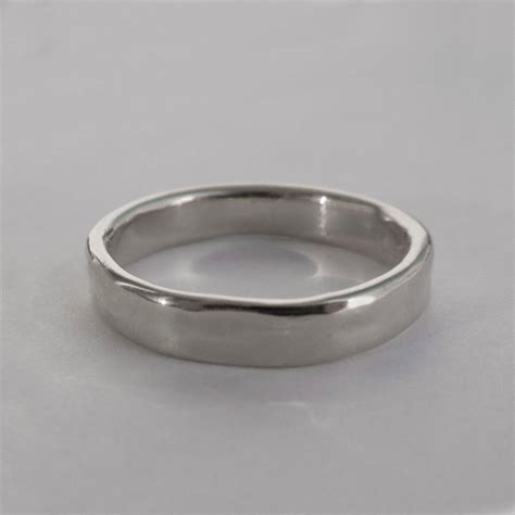 simple platinum wedding band platinum ring platinum