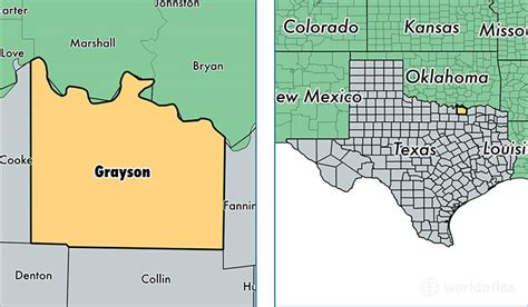 grayson county texas map grayson county texas map my