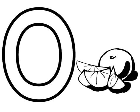 coloring pages letter o letter o coloring page for orange best place to color