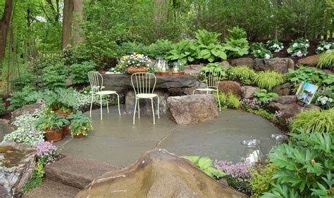 Rock Garden Designs Native Garden Design Intended For Rock Back Yard Landscaping With Garden