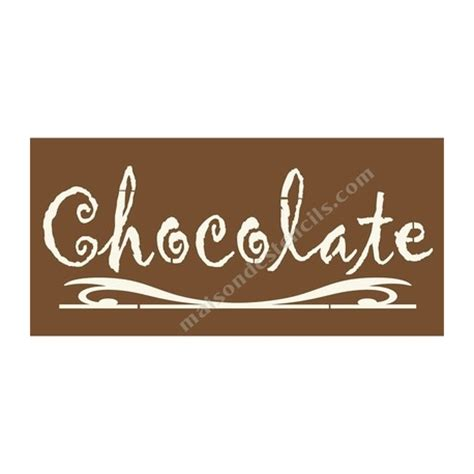 chocolate stencil templates chocolate 5 5x11 5 stencil