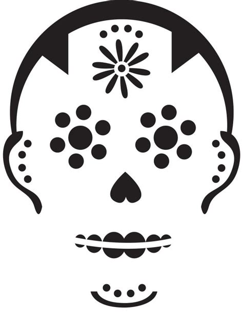printable pumpkin stencils sugar skull sugar skull pumpkin carving stencil photos diy