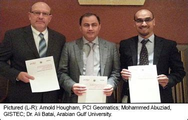 Pci Geomatica 2014 Sle Files Processing Satellite Image Aerial pci geomatics news pci geomatics signs education alliance agreement with arabian gulf