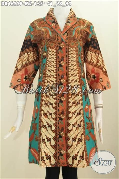 Batik Sinaran pakaian dress batik modis khas jawa tengah baju batik