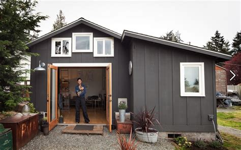 tiny house studio a shed converted into a studio home sheds and