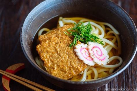 Udon Cup From kitsune udon きつねうどん just one cookbook