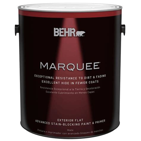 home depot paint prices 5 gallon behr marquee 1 gal 4450 ultra white flat exterior