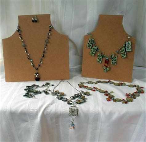 make your own jewelry display your own necklace display for shows tes fai da