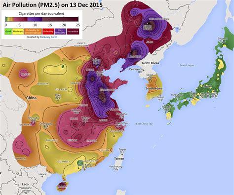air pollution map america berkeley earth
