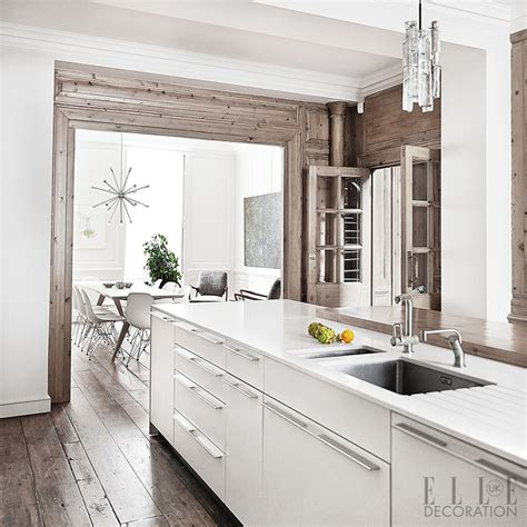 White Kitchen Island Table by Kitchen Design Inspiration Amp Decoration Ideas Elle