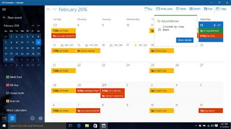 Windows Calendar Easy To Sync Icloud With Windows10 Calendar In Real Time
