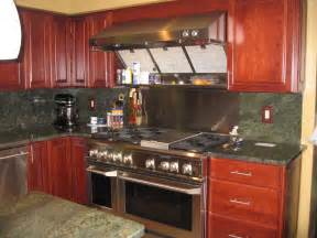 best inspiration cherry green granite kitchen countertop