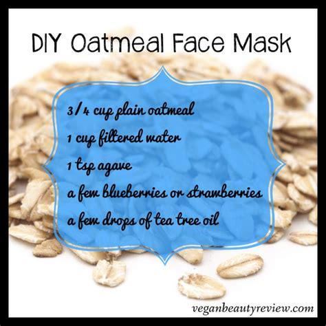 Masker Oatmeal oatmeal mask for acne