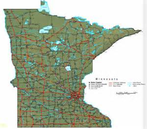 Mn State Map by Minnesota Map Online Maps Of Minnesota State