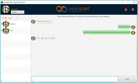 java chat room new chat application using socket