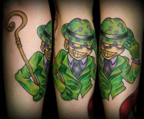 riddler tattoo riddler search