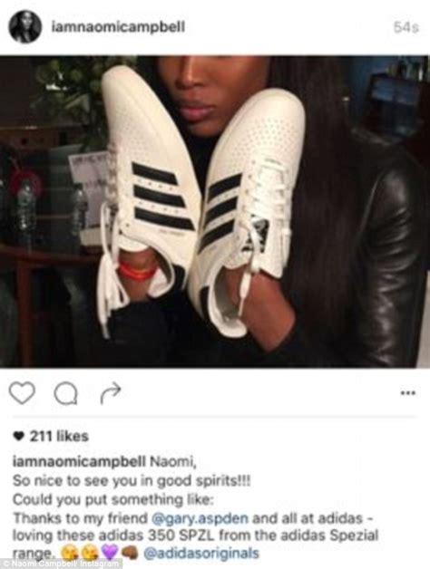 new year instagram caption cbell posts instagram photo promoting adidas