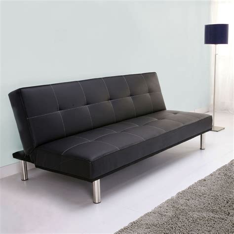 Sofa Bed Black by Black Leather Sofa Beds Harlem Black Leather Sofa Bed By
