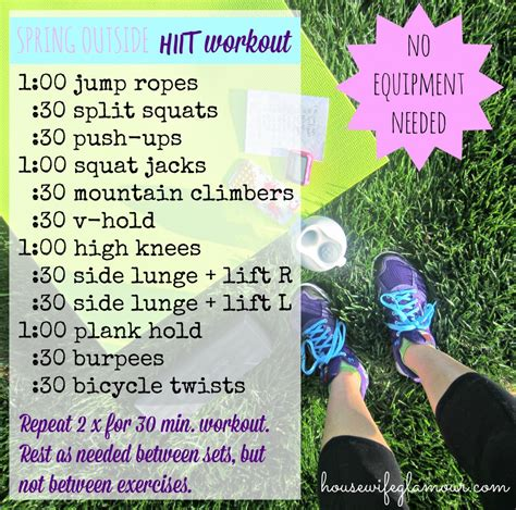 favorite no equipment needed at home workouts in