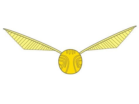 golden snitch wings template golden snitch detailed drawings related keywords golden