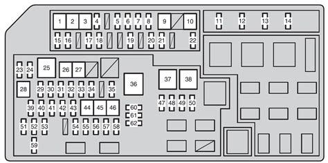 toyota land cruiser prado from 2011 fuse box diagram